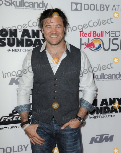 """Photo - Buster Reeves attending the Los Angeles Premiere Screening of """"on Any Sunday"""" Held at the Dolby Theatre in Hollywood, California on Oct. 22,2014 Photo by: D. Long- Globe Photos Inc."""