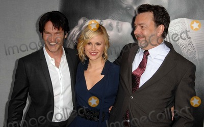 "Anna Paquin, Stephen Moyer, Anna Paquin-, Stephen Moyer- Photo - STEPHEN MOYER ANNA PAQUIN ALAN BALLAttends The Los Angeles Premiere Of The Second Season  Of HBO's Series"" TRUE BLOOD"" Held At The Paramount Theater In Hollywood, California On June 9, 2009