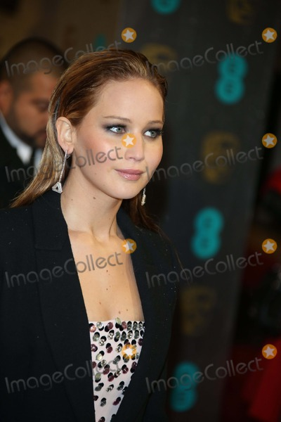 Jennifer Lawrence Photo - Actress Jennifer Lawrence Arrives at the Ee British Academy Film Awards at the Royal Opera House in London, England, on 10 February 2013. Photo: Alec Michael Photo by Alec Michael- Globe Photos, Inc