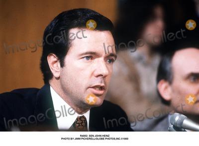 Photo - : Sen John Heinz Photo by Jimm Pickerell/Globe Photos,inc.