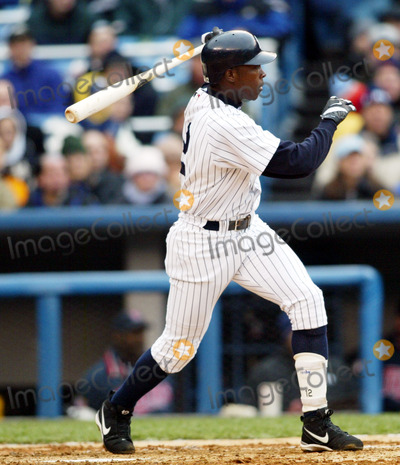 Alfonso Soriano, Alfonso André Photo - New York Yankees Opening Day (New York Yankees V. Minnesota Twins) 4/8/2003 Photo By:Globe Photos, Inc 2003 Alfonso Soriano