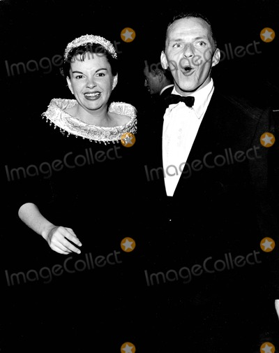 Frank Sinatra, Judy Garland Photo - Frank Sinatra with Judy Garland at Grove 1955 Photo by Phil Roach-ipol-Globe Photos, Inc.