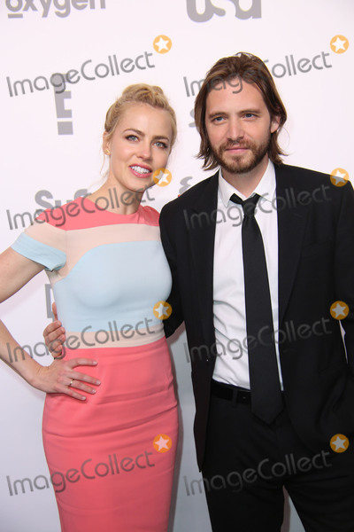 Aaron Stanford, Amanda Schull Photo - NBC Universal Cable Entertainment Upfront Celebration Javits Center North Hall, NYC May 14, 2015, NYC Photos by Sonia Moskowitz, Globe Photos Inc 2015 Amanda Schull, Aaron Stanford