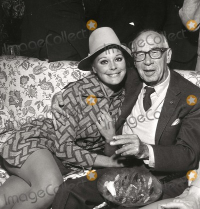 Elke Sommer, Elke Sommers Photo - Elke Sommer and Henry Miller Photo: Nate Cutler/Globe Photos Inc