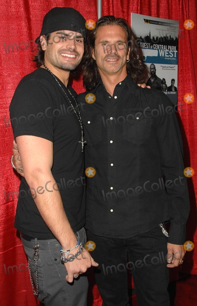"""Lorenzo Lamas, A.J. Lamas, AJ Lamas Photo - Premiere of """"the Guest at Central Park West"""" at the Writers Guild Theatre in Beverly Hills, California January 18, 2010 Photo by Scott Kirkland-Globe Photos @ 2010 A.j. Lamas and Lorenzo Lamas"""