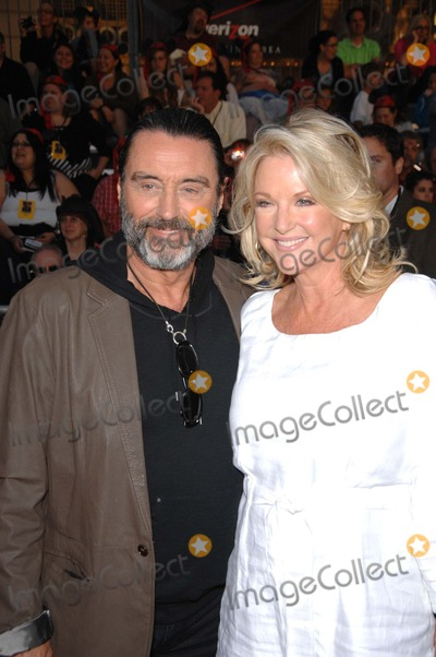 Ian Mcshane, Gwen Humble, Walt Disney Photo - Ian Mcshane and Gwen Humble During the Premiere of the New Movie From Walt Disney Pictures Pirates of the Caribbean: on Stranger Tides, Held at Disneyland, on May 7, 2011, in Anaheim, california.