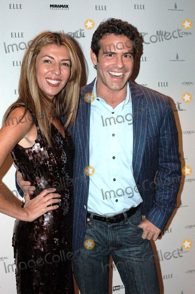 """Nina Garcia, Andrew Cohen Photo - Elle Project Hosts Viewing Party For 2nd Season Premiere of Bravo's """"Project Runway"""" and Launch of Project Runway Magazine. Aer, New York City 12-07-2005 Photo by Ken Rumments-Globe Photos 2005 Nina Garcia, Fashion Director For Elle and Andrew Cohen"""