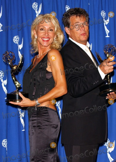 Linda Thompson, David Foster, Linda David Photo - 2003 Emmy Creative Arts Awards. Press Room at the Shrine Auditorium in Los Angeles, CA. 09/13/2003 Photo by Fitzroy Barrett/Globe Photos Inc.2003 Linda Thompson and David Foster