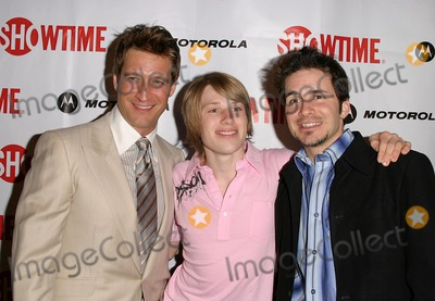 Hal Sparks, Harris Allen, Robert Gant Photo - Queer As Folk Season Four Launch Party at the Regent Theatre in West Hollywood, CA. 04/14/2004 Photo by Kathryn Indiek/Globe Photos Inc. 2004 Robert Gant, Harris Allen and Hal Sparks