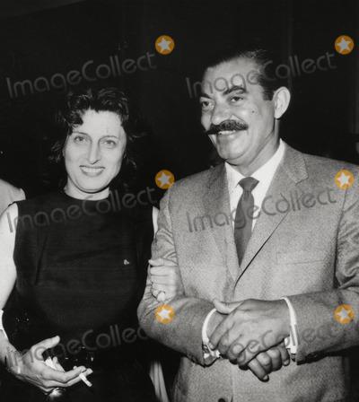 Anna Magnani Photo - Anna Magnani and Jerry Colonna Photo: Nate Cutler/Globe Photos Inc