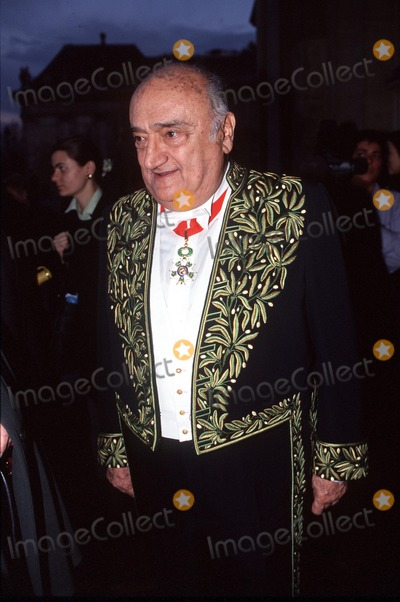 Henri Verneuil, French Director? Photo - Imapress/stephane Benito - 06-12-00- Henri Verneuil a L'academie Francaise (the French Director, Henri Verneuil, Passed Away Today 1/11/2002 at the Age of 81) Credit: Imapress/Globe Photos, Inc.