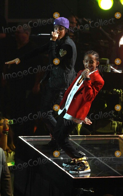Photos And Pictures Justin Bieber Jaden Smith Justin Bieber My World Tour Concert Being