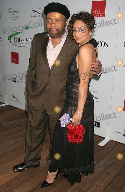 Andre Crouch, Jasmine Guy Photo - Turk & Caicos Islands 2006 International Film Festival - Official Launch Party Skybar, West Hollywood, CA 06-07-2006 Photo: Clinton H. Wallace/photomundo/Globe Photos Inc Andre Crouch and Jasmine Guy