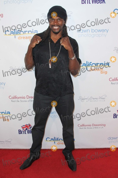 Audley Harrison Photo - Audley Harrison attends California Dreaming: Real Life Stories of Brits in LA at the L'ermitage Hotel on May 1st, 2014 Beverly Hills ,california,usa.photo:tleopold/ Globephotos