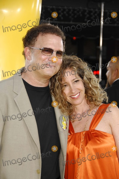 """Albert Brooks, The Simpsons Photo - Wentieth Century Fox Presents the Los Angeles Premiere of """"the Simpsons Movie"""" at the Mann Village Theater Westwood, California 07-24-2007 Photo by Michael Germana-Globe Photos 2007 Albert Brooks and Kimberly Books"""