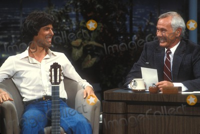 Johnny Carson Photo - Johnny Carson with Cory Carson on Johnny Carson Show 12-1982 Photo by Allan S. Adler-Globe Photos, Inc.