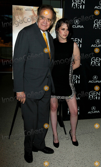 Arthur Cohn, Kristen Stewart Photo - The Los Angeles Premiere of the Yellow Handkerchief Held at the Pacific Design Center in West Hollywood, CA. 02-18-2010 Photo by Graham Whitby Boot-allstar-Globe Photos, Inc. K64347alst Arthur Cohn, Kristen Stewart