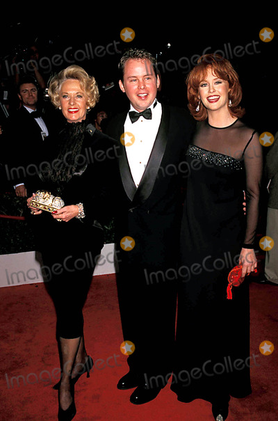 "Tippi Hedren, Clay Griffith, John Lynch, Group Shot Photo - ""Evita"" World Premiere Los Angeles, California. Tippi Hedren with Stepson Clay Griffith and Dauhgter, Tracy. Photo: John Lynch / Globe Photos Inc Tippihedrenretro"