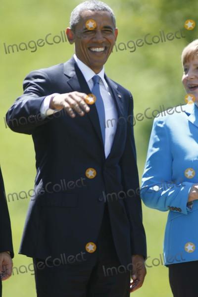 Angela Merkel, Barack Obama, President Barack Obama Photo - Us President Barack Obama and German Chancelor Angela Merkel Attend the G7 Summit at Elmau Castle Near Garmisch-partenkirchen, Germany, on 07 June 2015. Photo: Alec Michael