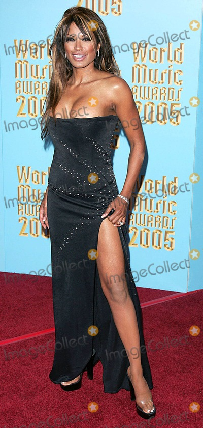 "Tracy Bingham, Traci Bingham Photo - 001568 ""World Music Awards 2005""-kodak Theatre, Hollywood, Los Angeles, USA 08-31-2005 Photo by Mark Chilton-globelinkuk-Globe Photos Traci Bingham"