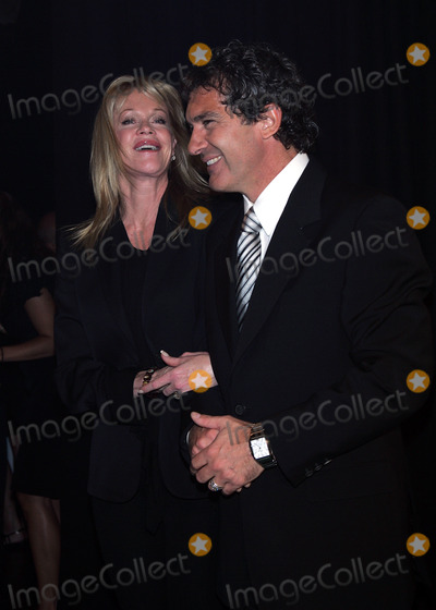 Antonio Banderas, Melanie Griffith, Melanie Griffiths Photo - Antonio Banderas and Wife Melanie Griffith Arrive at His Blue Seduction For Women Perfume Launch Party at Cedar Lake in New York on July 10, 2008. Photo by Terry Gatanis/Globe Photos, Inc.