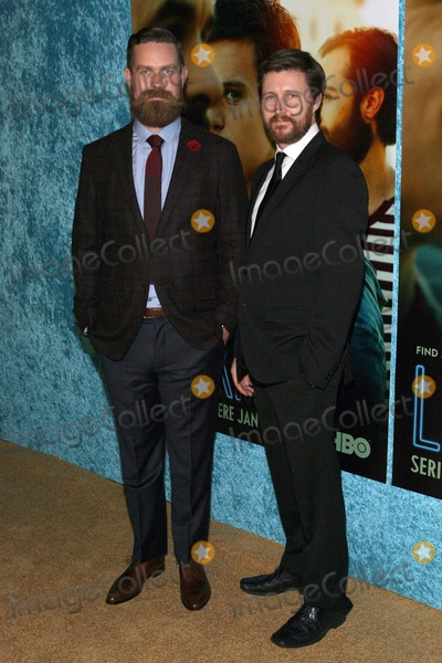 "Andrew Haigh Photo - Michael Lannan, Andrew Haigh Arriving at Los Angeles Premiere For Hbo Comedy Series ""Looking"" on January 15, 2014 at the Paramount Theater Hollywood,california,usa. Photo:tleopold/Globephotos"