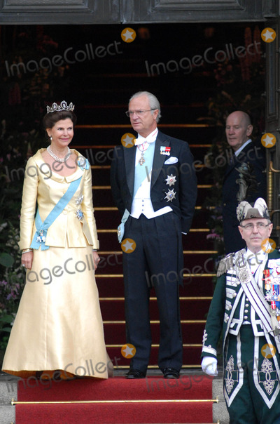 Queen, Queen Silvia, Queen Silvia of Sweden, Silvia of Sweden Photo - State Banquet-swedish State Visit-malmo Town Hall, Copenhagen, Denmark. 05-11-2007 Photo by Ricardo Ramirez-richfoto-Globe Photos, Inc. King Carl Gustav and Queen Silvia of Sweden