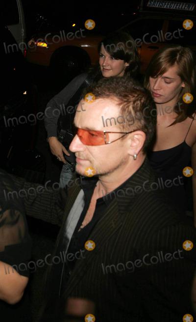 Bono, U 2, U2 Photo - Celebrities Coming and Going at Marqee 10th Avenue 09-26-2006 Photos by Rick Mackler Rangefinder-Globe Photos Inc.2006 Bono From U2