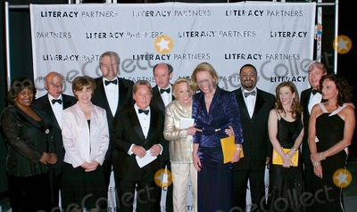 Arnold Scaasi, E. Lynn Harris, Bill Collins, Diane Von Furstenberg, Libby Pataki, Liz Smith, Susan Orlean Photo - 18th Annual Literacy Partners Gala, An Evening of Readings at Lincoln Center, honoring Verizon  05/05/03  NYCltor: L. Ross, B. Dille, M. Barden, H. Stringer, A. Scaasi, P. Ladd, L. Smith, L. Pataki, E. Lynn Harris, S. Orlean, B. Collins, D. Von Furstenberg K30900AMO18TH ANNUAL LITERACY PARTNERS GALA, AN EVENING OF READING HONORING VERIZON AT LINCOLN CENTER, NEW YORK CITY 05/05/2003PHOTO: ANTHONY MOORE/ GLOBE PHOTOS INC.  2003ARNOLD SCAASI, MARY BETH BARDIN, LAVENUS ROSS, PARKER LADD,  LIZ SMITH, SUSAN ORLEAN E LYNN HARRIS, BILL COLLINS, LIBBY PATAKI AND DIANE VON FURSTENBERG