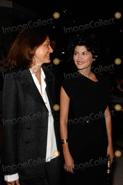 Audrey Tautou, Anne Fontaine, Coco Photo - Anne Fontaine and Audrey Tautou during the premiere of the new movie from Sony Picture Classics, COCO BEFORE CHANEL, held at the Pacific Design Center Silver Screen Theatre, on September 9, 2009, in West Hollywood, California.