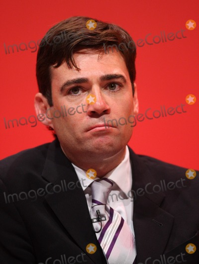 Andy Burnham Photo - Andy Burnham Mp Secretary of State For Health the Labour Party Conference 2009 at the Brighton Center in Brighton England 09-30-2009 Photo by Dave Gadd-allstar-Globe Photos, Inc.