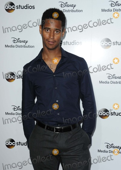 Alfred Enoch Photo - Alfred Enoch attending the Disney Media Distribution 2015 International Upfront Held at the Disney Studio Lot in Burbank, California on May 17, 2015 Photo by: D. Long- Globe Photos Inc.