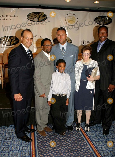 Derek Jeter, Dave Winfield, Joe Torre, Spike Lee, Adele Photo - I10912