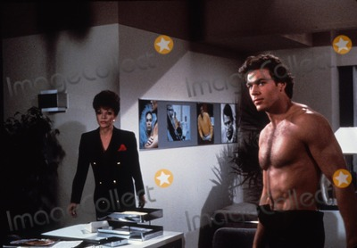 Joan Collins, Jon Erik Hexum, Jon-Erik Hexum Photo - Jon Erik Hexum with Joan Collins N0675 Supplied by Globe Photos, Inc.
