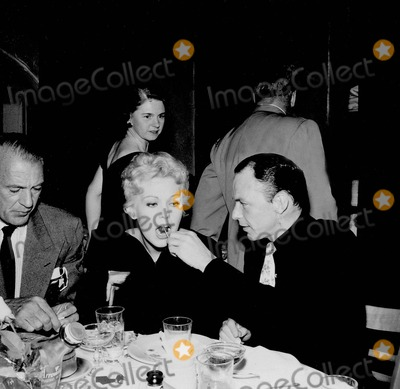 Frank Sinatra, Kim Novak, Gary Cooper Photo - Frank Sinatra with Gary Cooper and Kim Novak Photo by Nate Cutler-Globe Photos, Inc.
