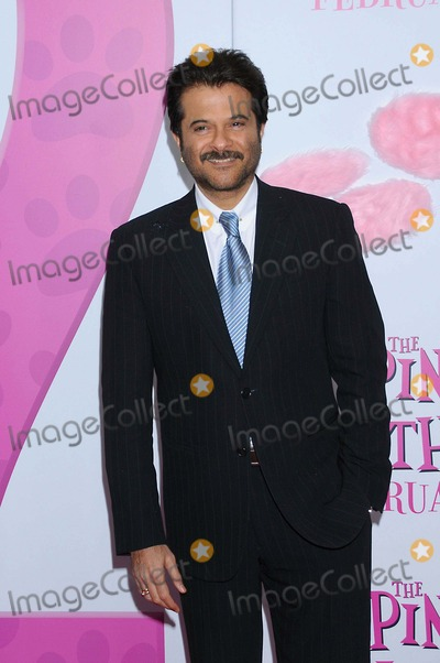 "Anil Kapoor, Anish Kapoor, Pink, PINK PANTHER Photo - ""Pink Panther 2"" Premiere at Ziegfeld Theater, New York City 02-03-2009 Photo by Ken Babolcsay -ipol-Globe Photos, Inc. 2008 Anish Kapoor"