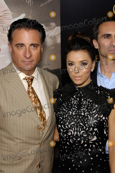 Samuel Goldwyn, Andy Garcia, Eva Longoria Photo - Andy Garcia and Eva Longoria During the Premiere of the New Movie From Arc Entertainment For Greater Glory, Held at the Academy of Motion Picture Arts and Sciences Samuel Goldwyn Theatre, on May 31, 2012, in Beverly Hills, California. Photo: Michael Germana - Globe Photos, Inc.