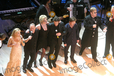 Bette Midler, Billy Joel, Antonio Banderas, Melanie Griffith, Group Shot, Michael J Fox, Michael J. Fox, Melanie Griffiths Photo - K36779JBB