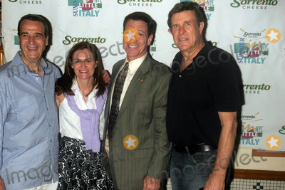 "Joe Piscopo, Brucie Morrow, Cousin Brucie, Cousin Brucie Morrow, ""Cousin Brucie"" Morrow Photo - JOEY REYNOLDS, CRISTYNE L. NICHOLAS, JOE PISCOPO AND ""COUSIN"" BRUCIE MORROW ARE INDUCTED INTO THE LITTLE ITALY WALL OF FAME AFTER A PRESS CONFERENCE AT ORIGINAL VINCENT'S RESTAURANT