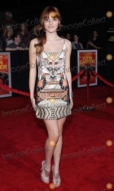 """Bella Thorne, John Carter Photo - Bella Thorne Los Angeles Premiere of Disney's """"John Carter """"- Arrivals Held at the Regal Cinemas L.A. Live,los Angeles,ca. Febuary 22 - 2012.photo:tleopold/Globephotos"""