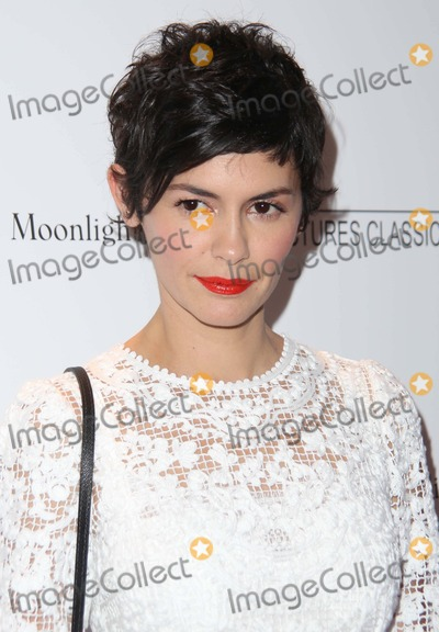 "AUDREY TATOU Photo - The New York Premiere of ""Magic in the Moonlight"" the Paris Theater, NYC July 17, 2014 Photos by Sonia Moskowitz, Globe Photos Inc 2014 Audrey Tatou"