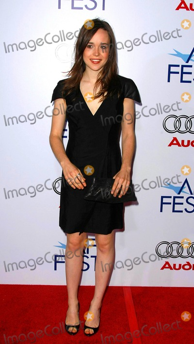 """Ellen Page, Audy Photo - Ellen Page Actress the 2008 Afi Fest Presented by Audi Presents the Closing Night Gala Presentation of """"Defiance"""" the Arclight Cinerama Dome, Hollywood, California 11-09-2008 Photo by Graham Whitby Boot-allstar-Globe Photos, Inc."""
