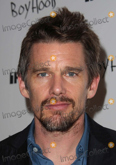 "Ethan Hawke Photo - The New York Premiere of ""Boyhood"" the Museum of Modern Art, NYC July 7, 2014 Photos by Sonia Moskowitz, Globe Photos Inc 2014 Ethan Hawke"