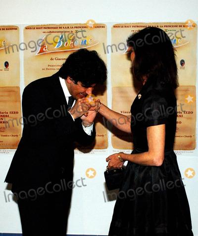 "Princess Caroline, Alberto Veronesi Photo - MONTECARLO GRIMALDI FORUMCHARITY RAPRESENTATION OF ""BOHEME'"" TO BENEFIT OF THE ASSOCIATIONS ""AMICO CHARLY"" AND ""JEUNE J'ECOUTE""THE PRINCESS CAROLINE AND THE MUSIC DIRECTOR ALBERTO VERONESI5/16/2004PHOTO BY:MARCO PIOVANOTTO/LAPRESSE/GLOBE PHOTOS, INC  2004K37321"