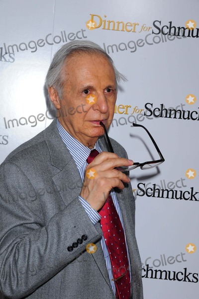 Kreskin, Amazing Kreskin, The Amazing Kreskin Photo - Dinner For Schmucks Ziegfeld Ttheater, ny 07-19-2010 the Amazing Kreskin Photo by Ken Babolcsay - Ipol-Globe Photo 2010