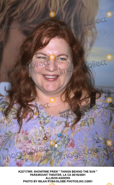 """Allison Anders Photo - : Showtime Prem """" Things Behind the Sun """" Paramount Theater, LA CA 08/16/2001 Allison Anders Photo by Milan Ryba/Globe Photos,inc."""