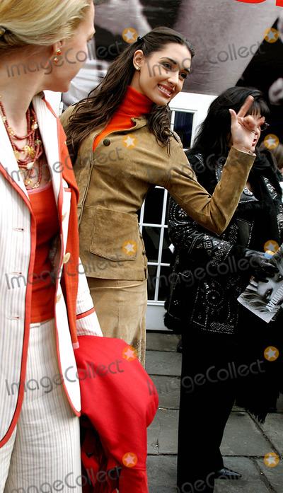 Amelia Vega, Oscar de la Renta Photo - Celebrities Arriving For the Olympus Fashion Week: Oscar DE LA Renta Fall 2004 Collection at Bryant Parkin New York City. 2/9/2004 Photo By:rick Mackler/rangefinders/Globe Photos, Inc 2004 Amelia Vega