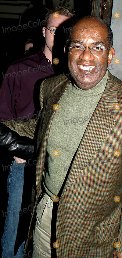 "Al Roker, Lyceum Theatre Photo - Sd0419 AL Roker at the Performance of ""Play What I Wrote"" the Lyceum Theatre, New York City. Photo:rick Mackler/Globe Photos Inc, Inc."