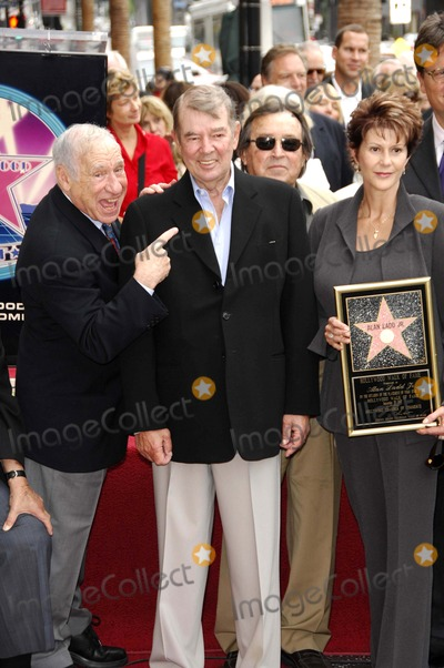 Mel Brooks, Alan Ladd, Mel Tormé Photo - Alan Ladd Jr. Receives a Star on the Hollywood Walk of Fame, Hollywood, CA 09-28-2007 Photo by Michael Germana-Globe Photos 2007 Alan Ladd Jr. and Mel Brooks
