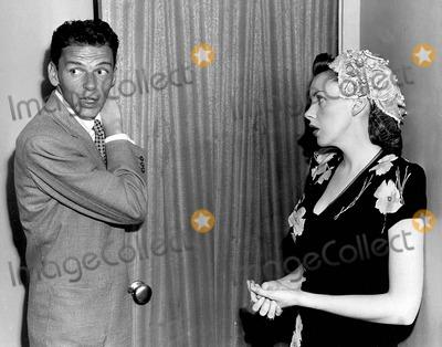 Frank Sinatra, Judy Garland Photo - Frank Sinatra with Judy Garland at New York City T.v. Studio 1950s Photo by Dm-Globe Photos, Inc.